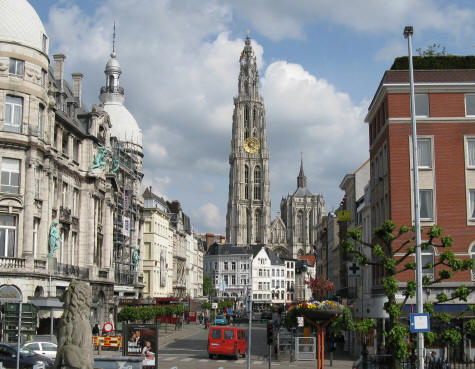 Cathedral of Our Lady in Antwerp Belgium (Antwerpen)