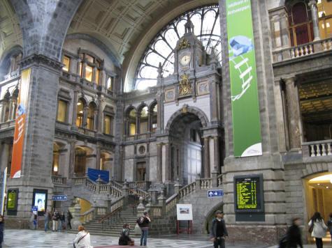 Diamond District In Antwerp Belgium